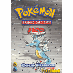 Pokemon Cards Neo Genesis 'Cold Fusion' Deck