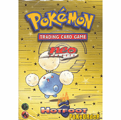 Pokemon Cards Neo Genesis 'Hotfoot' Deck