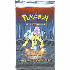 Pokemon Cards Neo Revelations Booster Pack