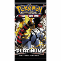 Pokemon Cards Platinum Edition Booster Pack