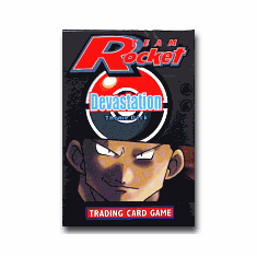 Pokemon Cards Team Rocket 'Devastation' Theme Deck