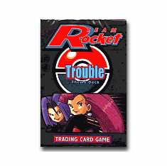 Pokemon Cards Team Rocket 'Trouble' Theme Deck