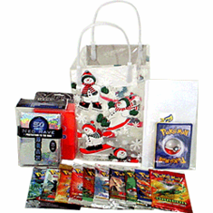 Pokemon Christmas Gift Bag - Pokemon Cards