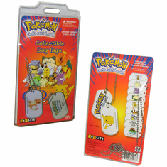 Pokemon Collectible Dog Tags / Key Chains