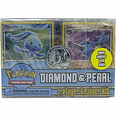 Pokemon Diamond & Pearl  Cards 2-Player Trainer Kit Deck