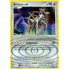 Pokemon Diamond & Pearl Holo Rare Promo Card - Arceus DP50