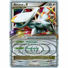 Pokemon Diamond & Pearl Ultra Rare Promo Card - Arceus LV.X DP53