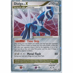 Pokemon Diamond & Pearl Ultra Rare Promo Card - Dialga LV.X DP17