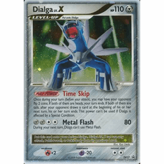 Pokemon Diamond & Pearl Ultra Rare Promo Card - Dialga LV.X DP37
