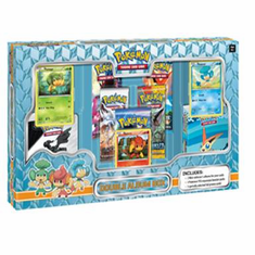 Pokemon Double Album Box (5 Packs - 3 promo cards - 2 Mini Binders)