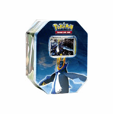 Pokemon DP Card Game 2007 Holiday Empoleon Tin