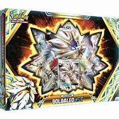 Pokemon Dragon Majesty Solgaleo-GX Collection Box