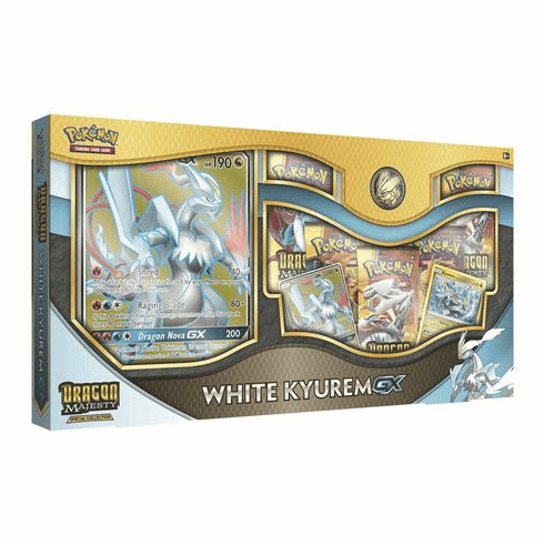 Pokemon Dragon Majesty White Kyurem GX Special Collection Box