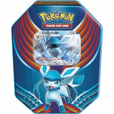 Pokemon Evolution Celebration Glaceon-GX Collector Tin