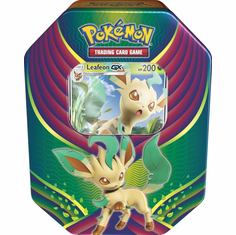 Pokemon Evolution Celebration Leafeon-GX Collector Tin