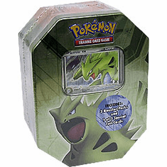 Pokemon EX 2008 Classic Tyranitar Deluxe Collectors Tin