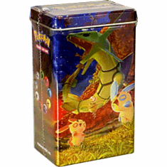 Pokemon EX Deck Tin Gift Pack