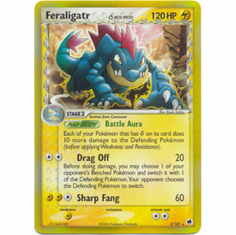 Pokemon EX Dragon Frontiers Holofoil Cards