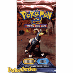 Pokemon-ex Magma vs. Aqua Booster Pack