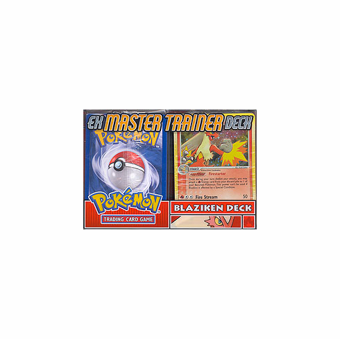 Pokemon EX Master Trainer Blaziken Deck