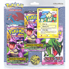 Pokemon EX Minun Promo Card with 3 Packs