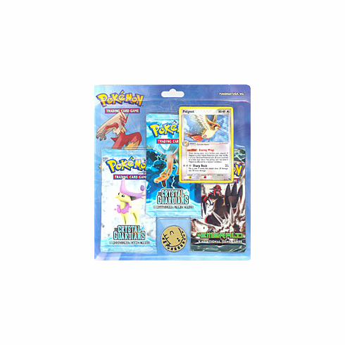 Pokemon EX Pidgeot Holofoil Promo Card with 3 Packs