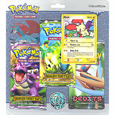 Pokemon EX Plusle Promo Card and Packs