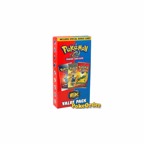 Pokemon EX Series Value Pack