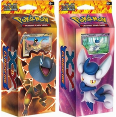 Pokemon Flashfire XY Starter Deck Set - Heliolisk & Meowstic Decks