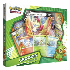 Pokemon - Galar Collection - Grookey w/ Zamazenta