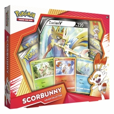 Pokemon - Galar Collection - Scorbunny w/ Zacian