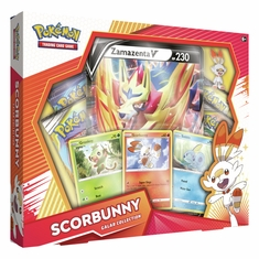 Pokemon - Galar Collection - Scorbunny w/ Zamazenta