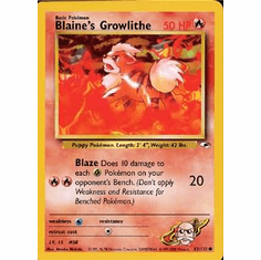Pokemon Gym Heroes Common Cards