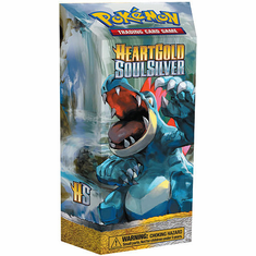 Pokemon HeartGold & SoulSilver Mind Flood Theme Deck [Feraligatr]