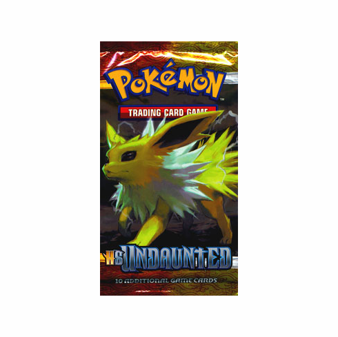Pokemon HS Undaunted Booster Pack