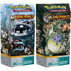 Pokemon HS2 Unleashed Theme Deck Set Chaos Control & Steel Sentinel