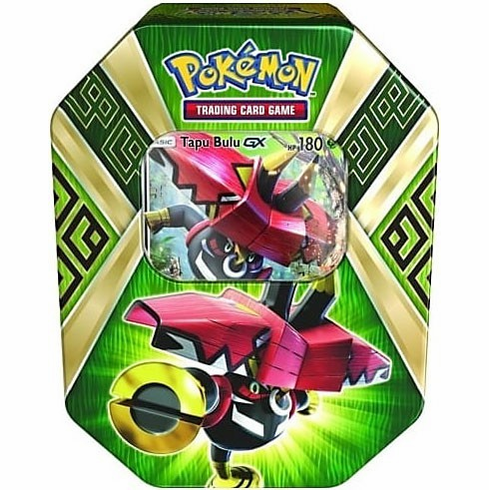 Pokemon Island Guardians Tapu Bulu-GX Collector Tin