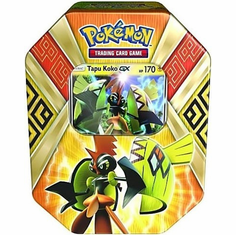 Pokemon Island Guardians Tapu Koko-GX Collector Tin