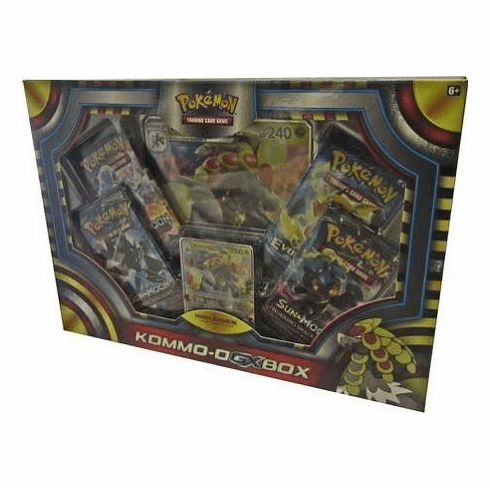 Pokemon Kommo-O-Gx Box