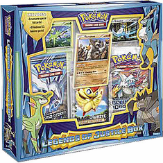 Pokemon Legends Of Justice Box