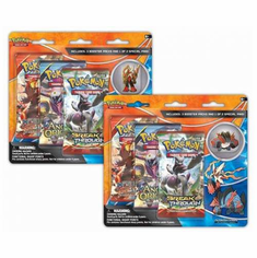 Pokemon Mega Blaziken or Mega Swampert 3-Pack Pin Blister
