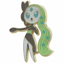 Pokemon Meloetta Collector's Pin