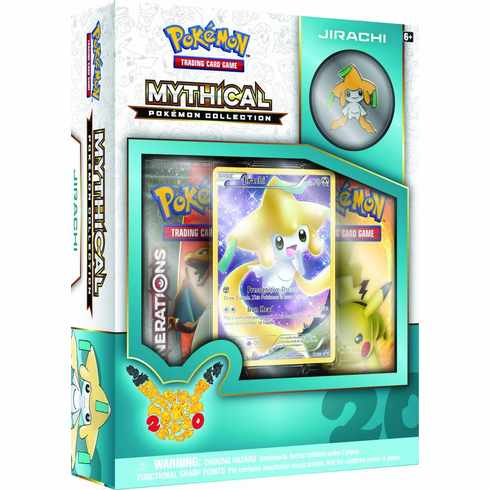 Pokemon Mythical Jirachi Collection Box