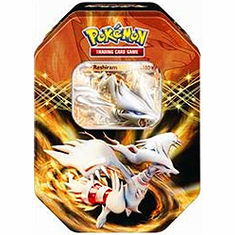Pokemon Next Destinies 2012 Spring Reshiram EX Collector's Tin