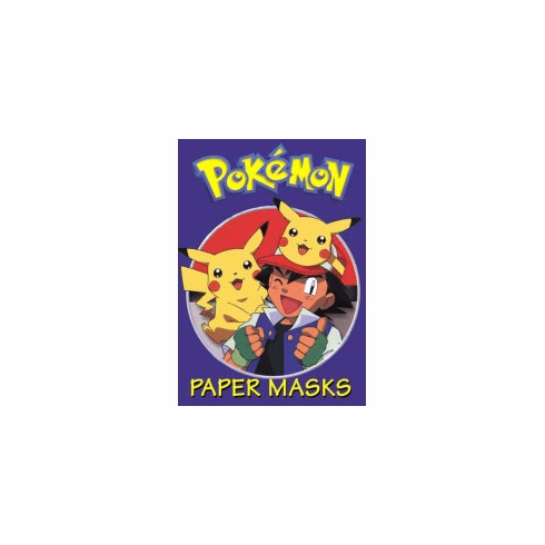 Pokemon Paper Mask Book