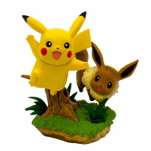 Pokemon - Pikachu & Eevee Poke Ball Collection Figure
