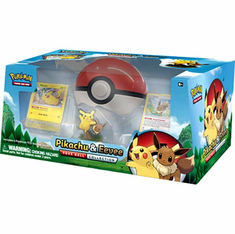 Pokemon Pikachu & Eevee Poke Ball Collection Special Edition Set
