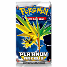 Pokemon Platinum Arceus Booster Pack