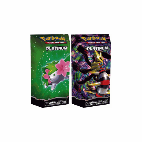 Pokemon Platinum Card Theme Deck Set [Rebellion & Flourish]