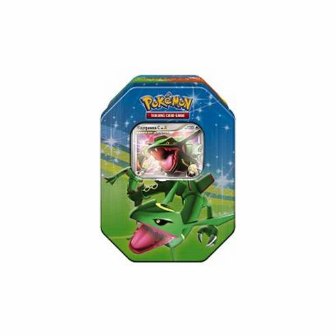 Pokemon Platinum Fall 2009 Collector Tin Set Rayquaza